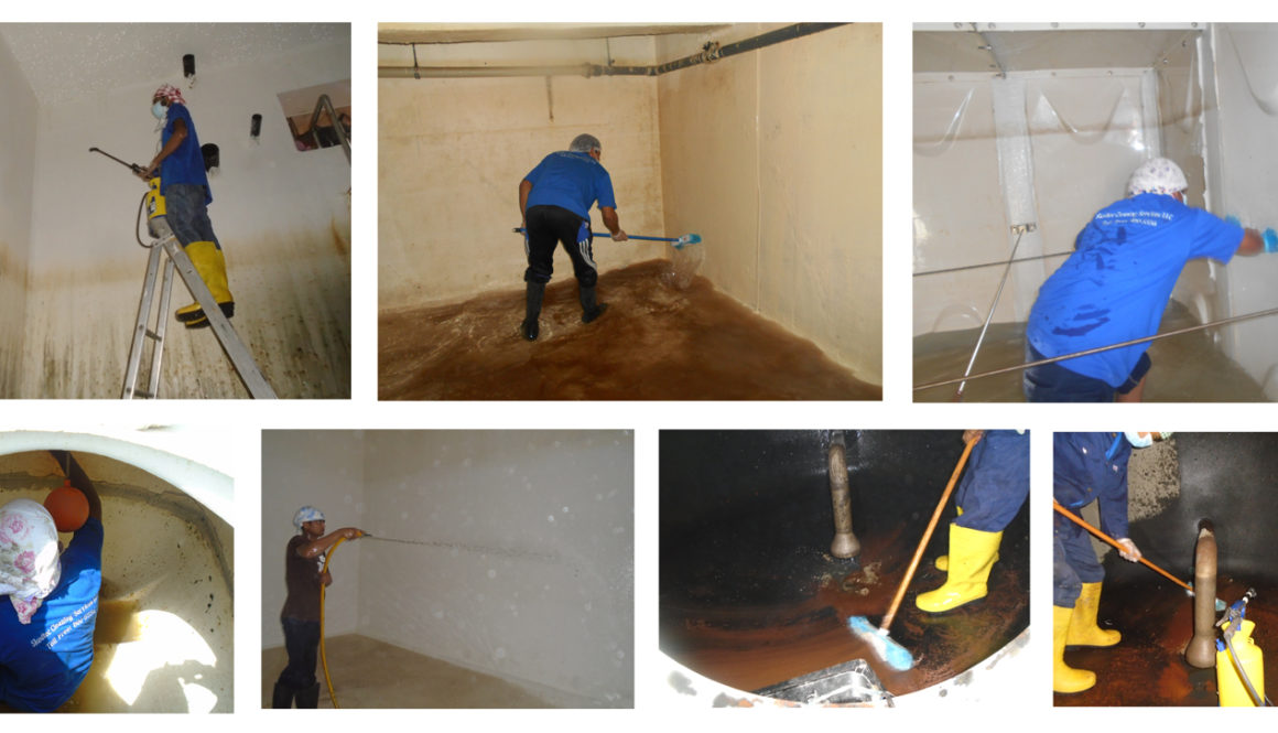 Dubai Municipality Approved Water Tank Cleaning Company in Dubai